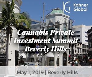 Cannabis Private Investment Summit: Beverly Hills