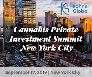 Cannabis Private Investment Summit: New York City